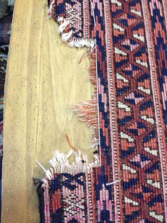Realizzazione tappeto persiano