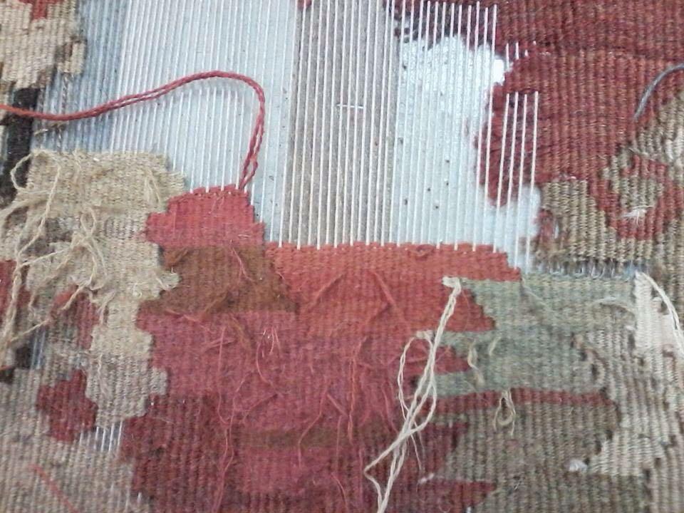 Riparazione tappeto orientale