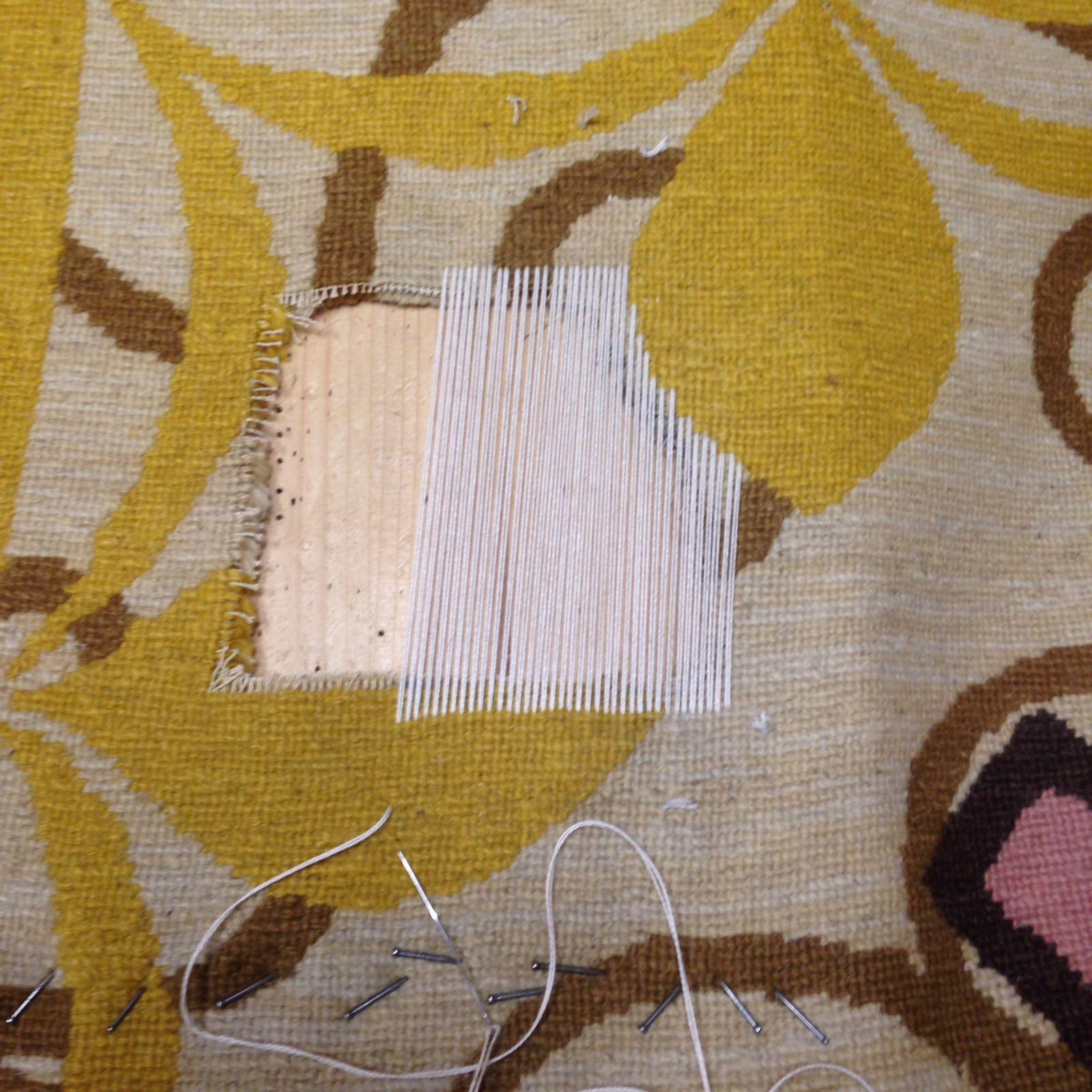 Riparazione tappeti pregiati