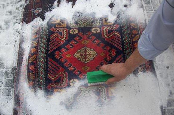 Dettaglio tappeto pregiato