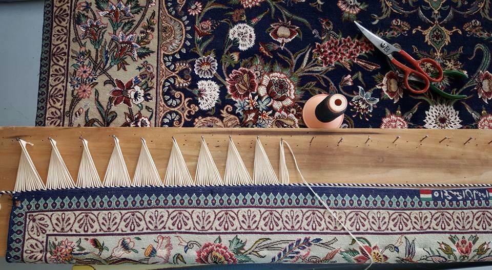 LAvorazione tappeto persiano pregiato