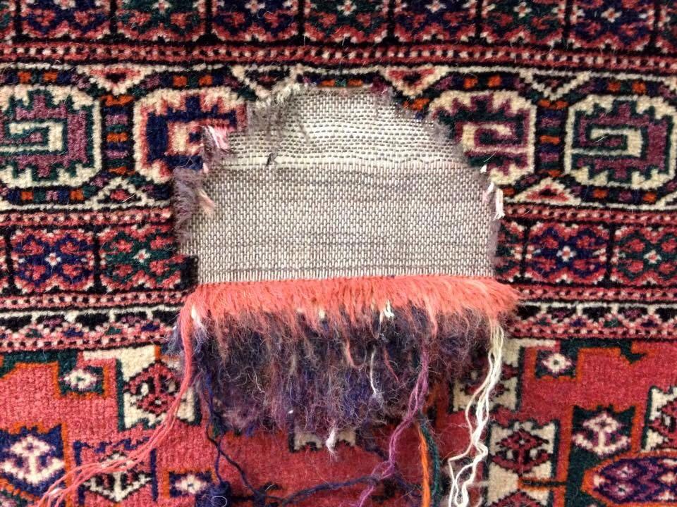 Restauro tappeto pregiato
