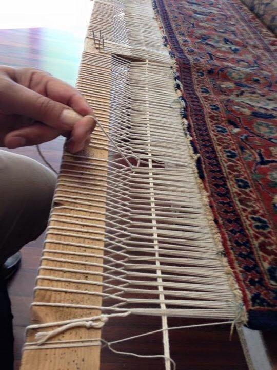 Realizzazione tappeto orientale