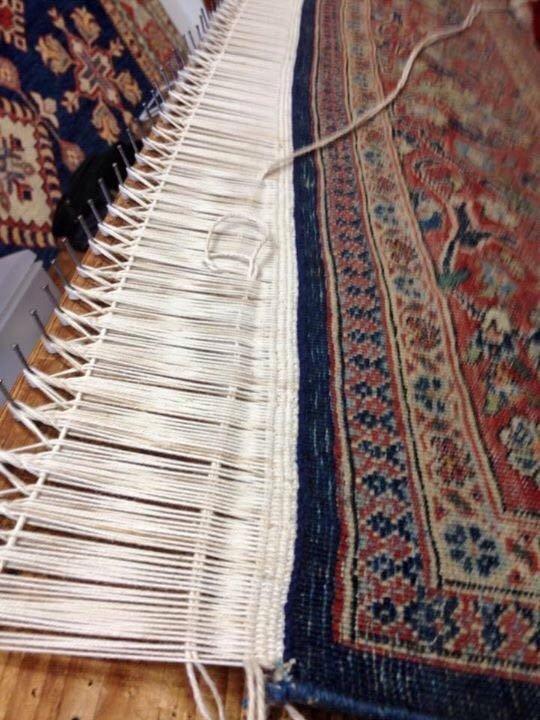 Dettaglio tappeto persiano