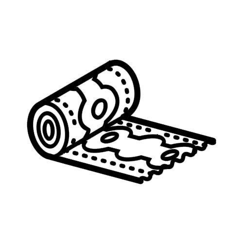 Icona tappeto avvolto