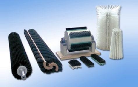 Cepillos textil