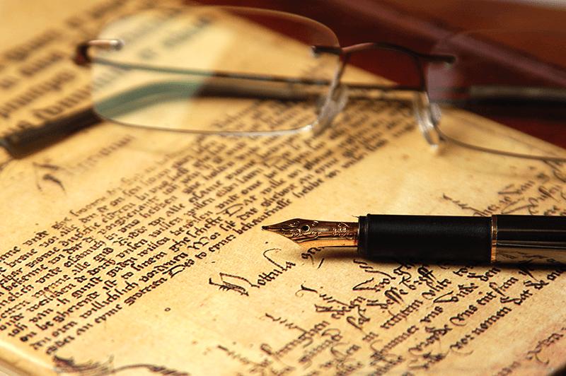 Penne stilografiche in oro