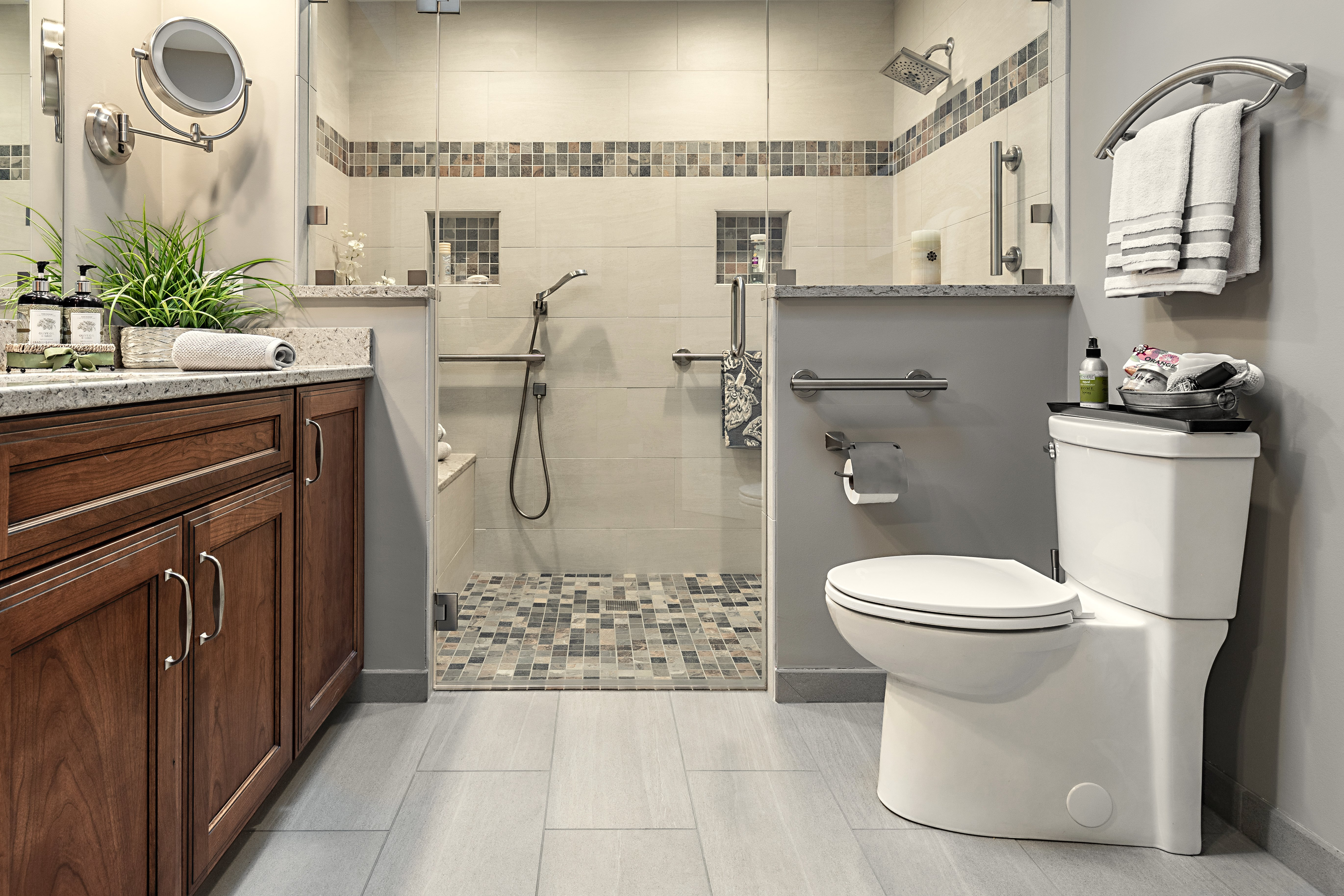Universal Design Master Bath, Barrington