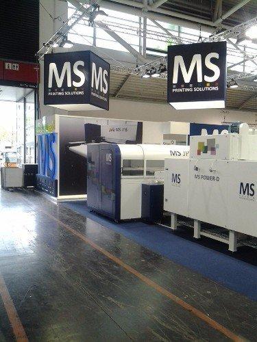 degli stand di MS Printing Solutions