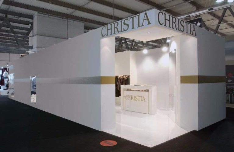 uno stand di Christia
