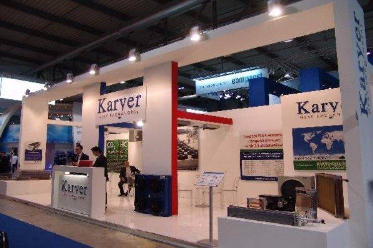 uno stand di Karyer
