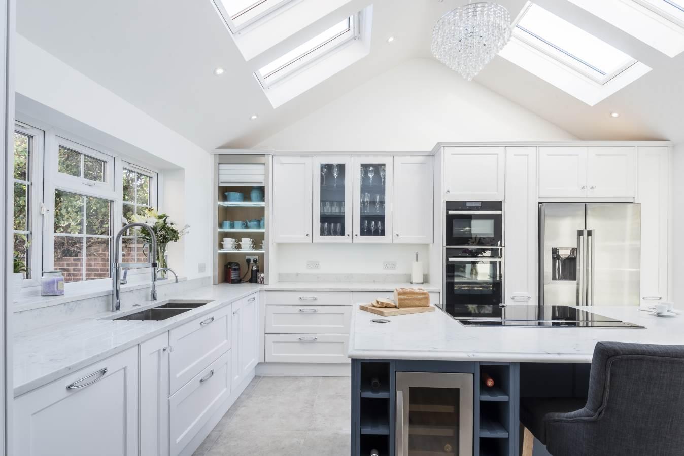 Shaker Kitchens Berkshire - Anthony Mullan furniture
