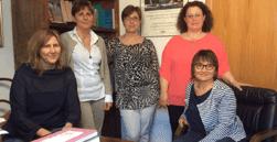 5 donne che fanno parte dello studio