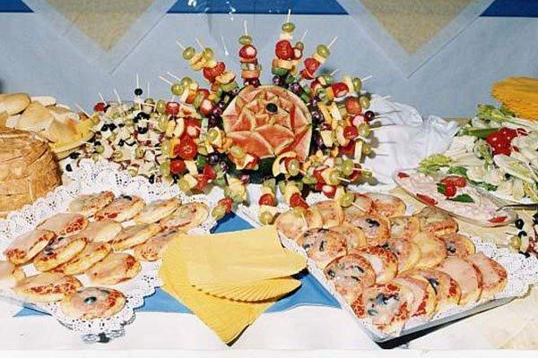buffet assortito salato