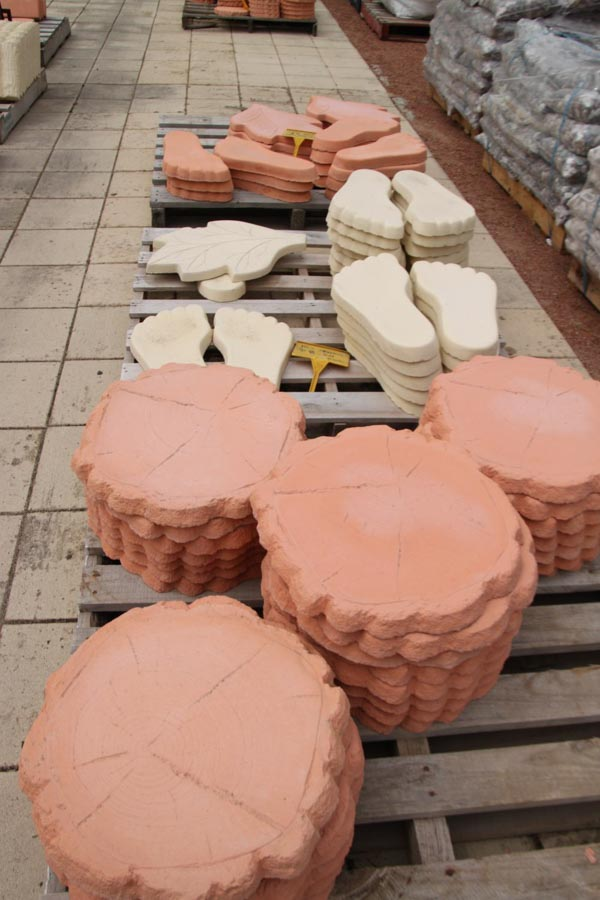 ceramic stepping stones