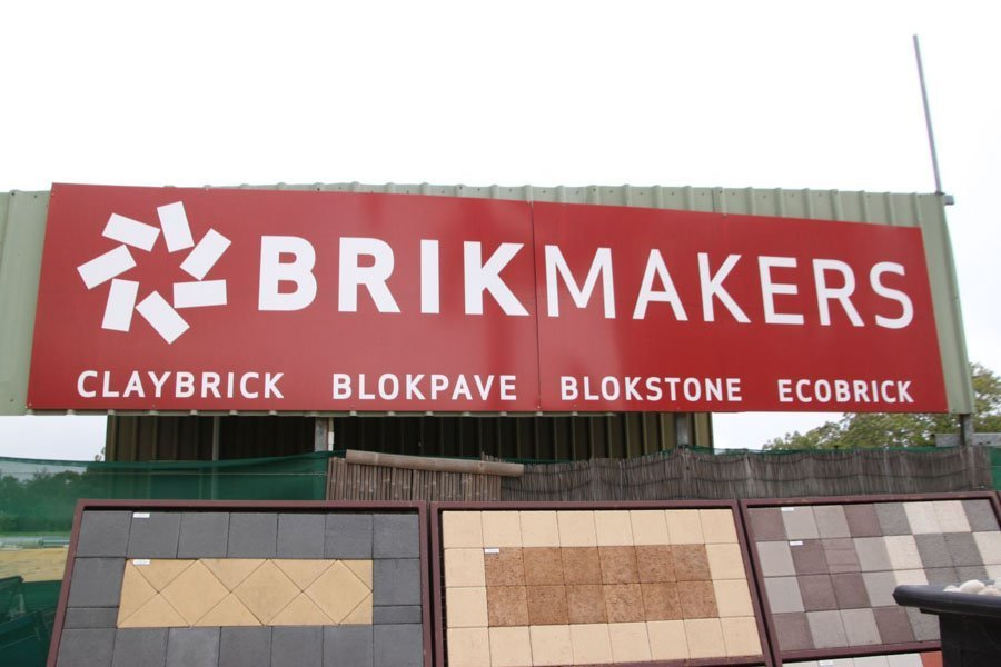 Brikmaker paving display