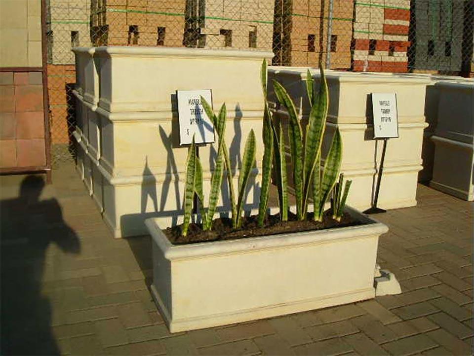 selection of concrete blocks