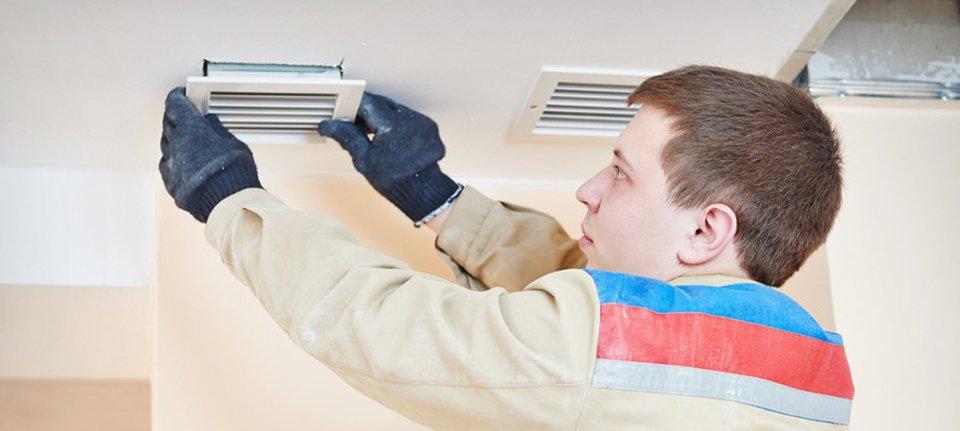 Positive input ventilation system