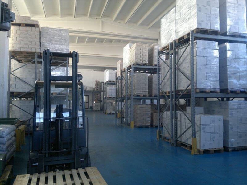 macchinari in una fabbrica