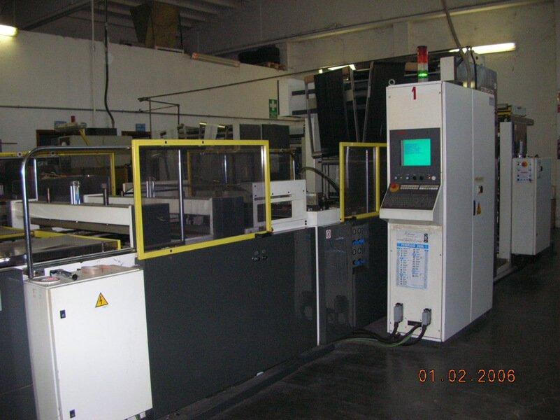 macchinario per il controllo di sacchetti