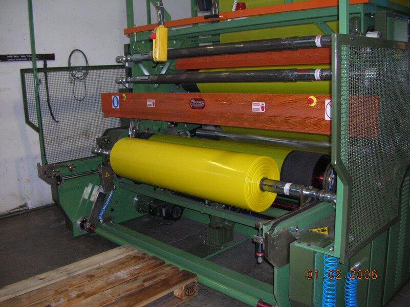rullo per produzione di sacchetti
