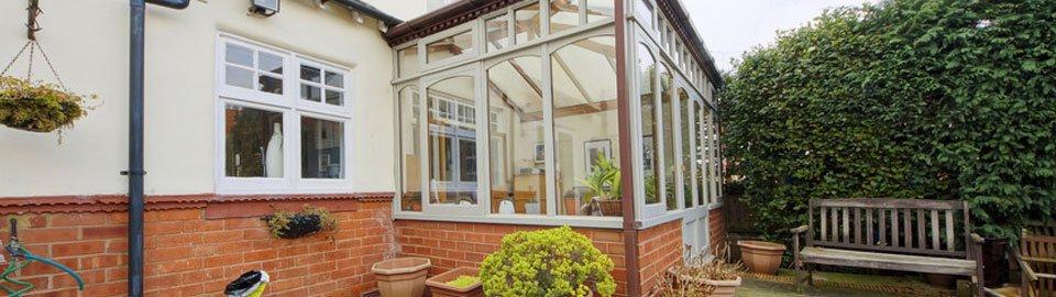 Domestic glazing work