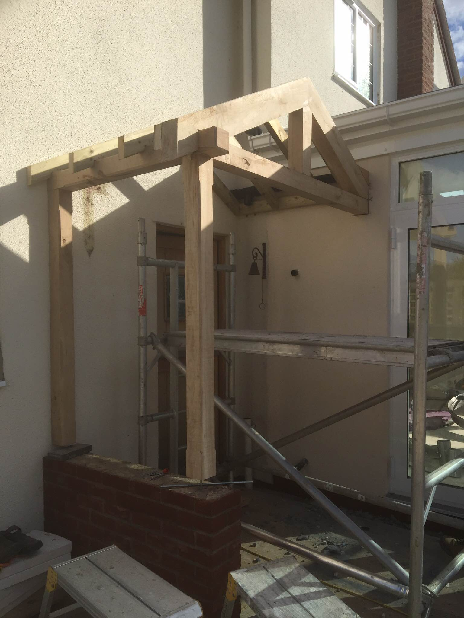 Porch construction