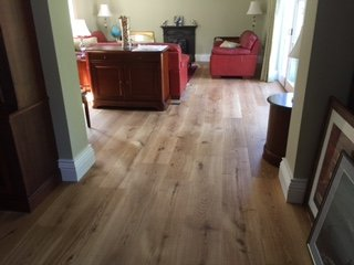 light brown wooden flooring
