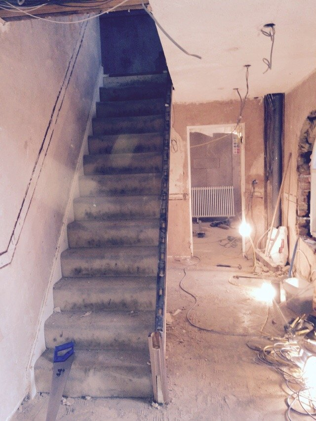 staircase refurbishment
