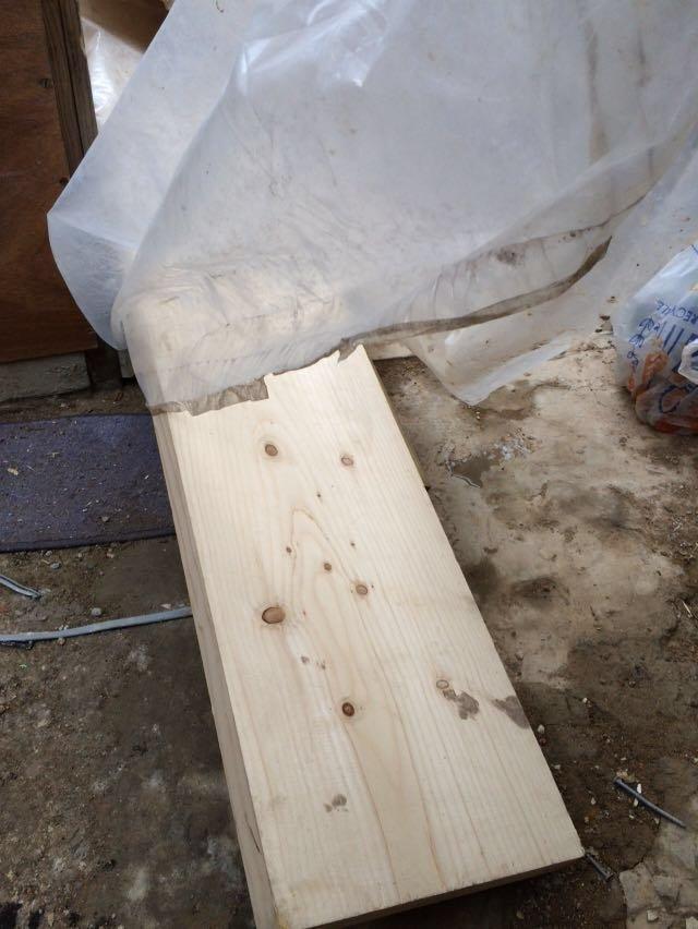 wooden slab