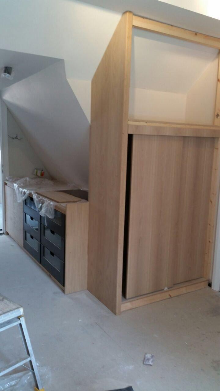 wooden slider