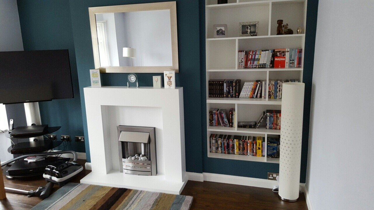 themed bookcase