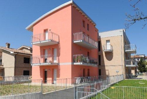 una casa rosa