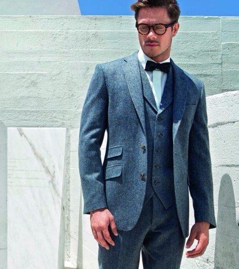 Tweed suit SG Menswear