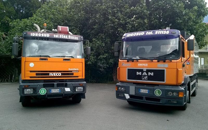 camion impianti idraulici