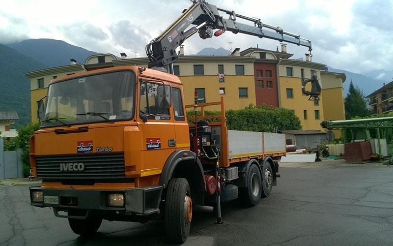 camion argano gru