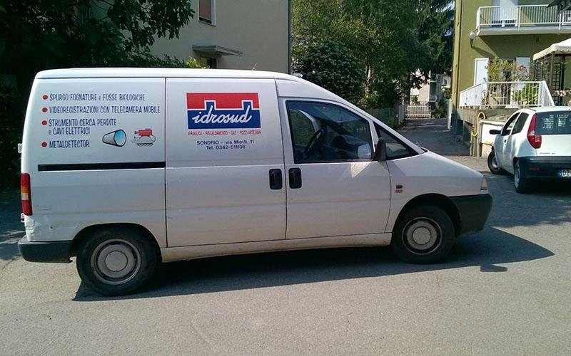 idrosud furgone pronto intervento