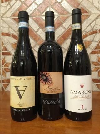 Amarone Villabella, Amarone Bussola, Amarone Tedeschi