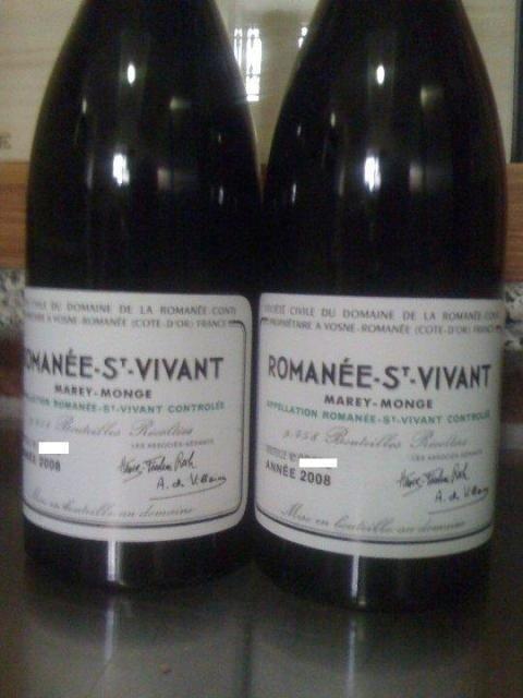 DRC Romanee St Vivant 2008