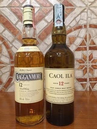 Whisky Gragganmore, Whisky Caol Ila