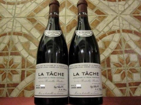 Romanee Conti La Tache 2003