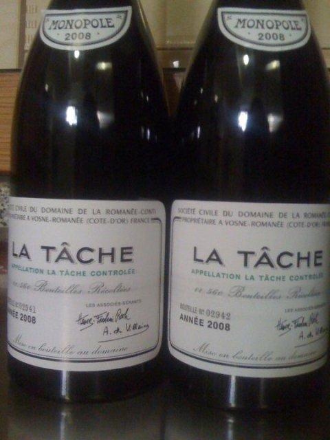 La Tache 2008