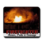 Firefighter Mousepads