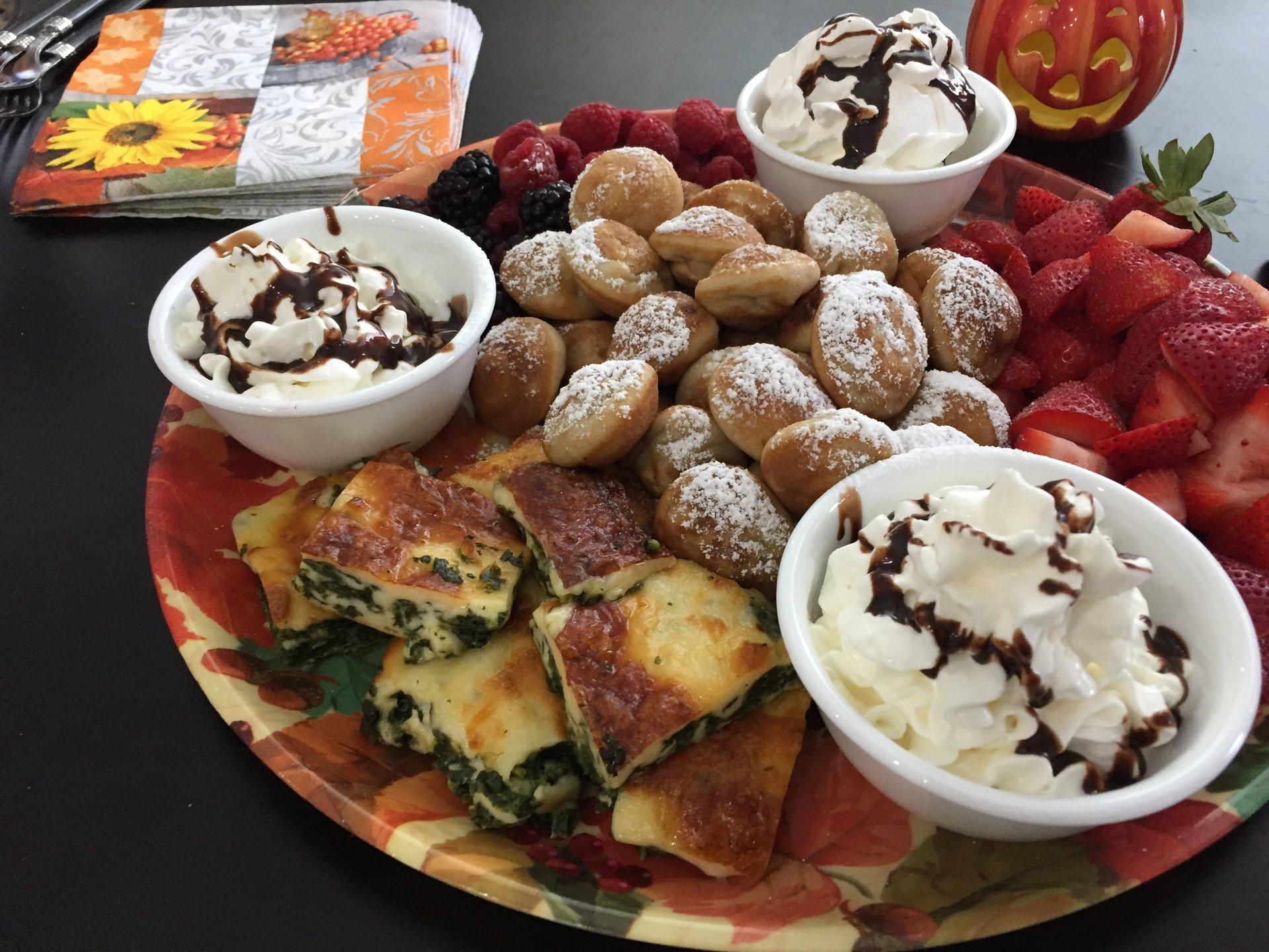 Fall Brunch Trays Are Family Fun