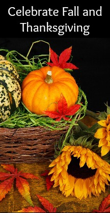 Celebrate Thanksgiving and Fall With Personalized Holiday Gifts