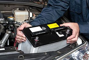 Vehicle servicing - London, England - Motor Tech Services - Car battery