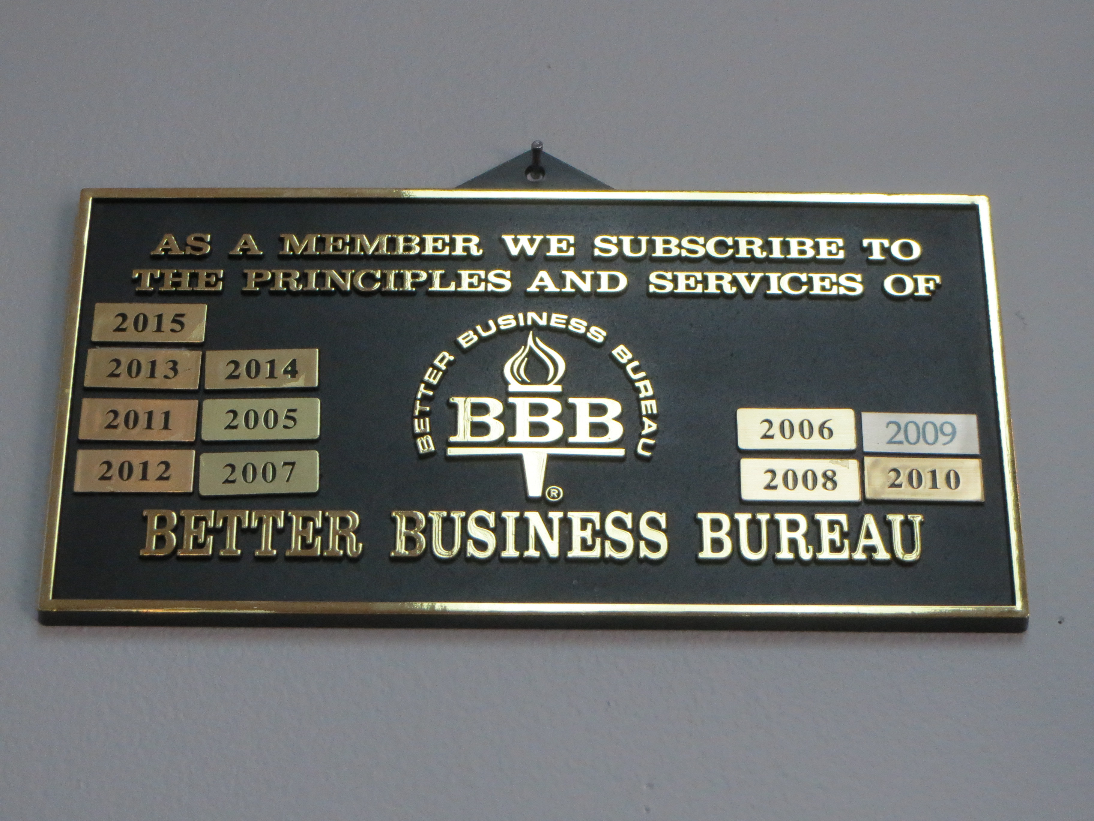 Member Better Business Bureau