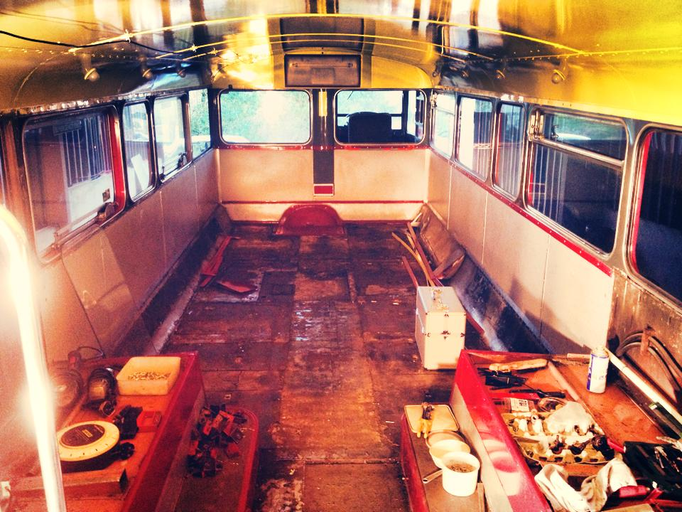 The Mobile bus bar build continues.