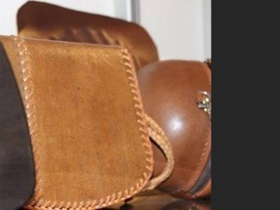 sale of leather handbags