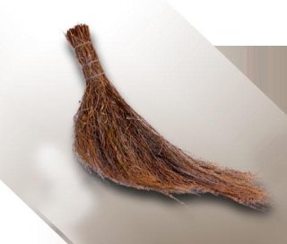 Heather wing-style broom